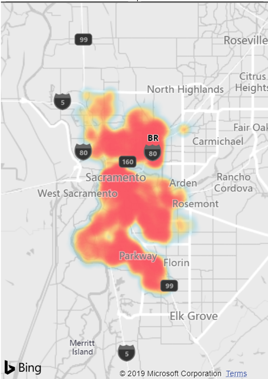 Crimes data maps with Power BI - Altitude365