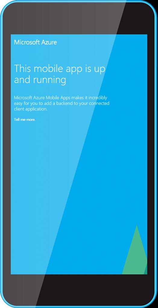 EMS Azure i mobilen